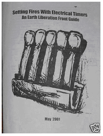 Image for Setting Fires With Electrical Timers: An Earth Liberation Front Guide-E.L.F.