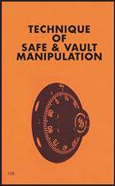 Image for Technique of Safe & Vault Manipulation