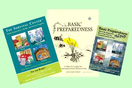 Image for Basic Preparedness: A How-To Guide for Preparedness & Self-Reliant Living Book & DVD Survival Package