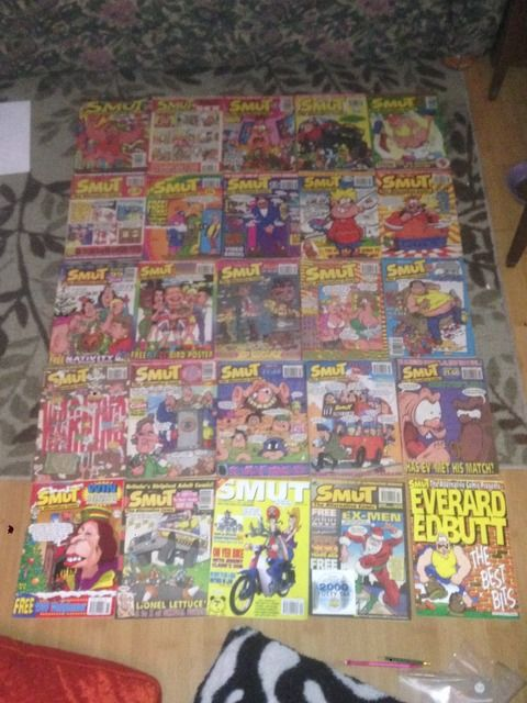 Image for Smut The Alternative Comic x25 Issue Lot Britain's Adult Comic UK Europe Magazine