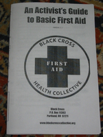 Image for An activists guide to basic first aid