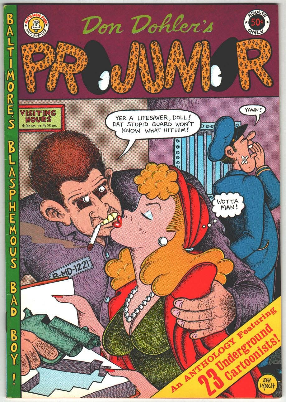 Image for Projunior: Issue #1 (an Anthology Featuring 23 Underground cartoonists)