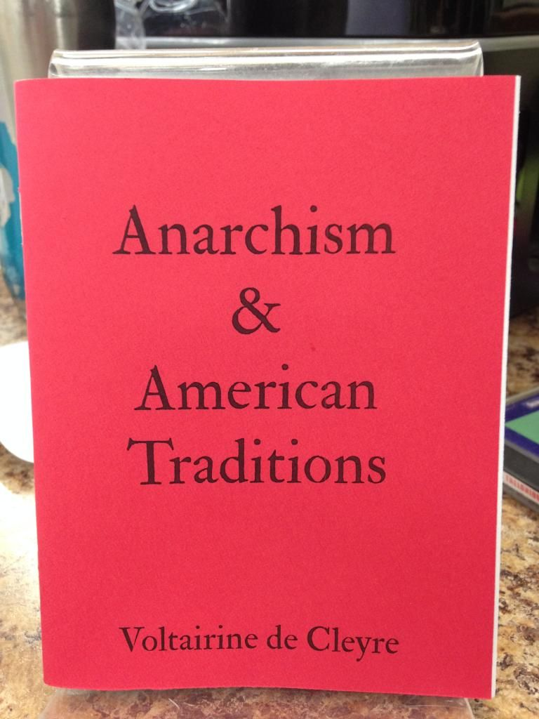 Image for Anarchism & American Traditions