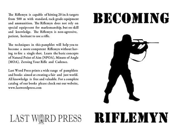 Image for Becoming Riflemyn: A Do-It-Yourself Manual