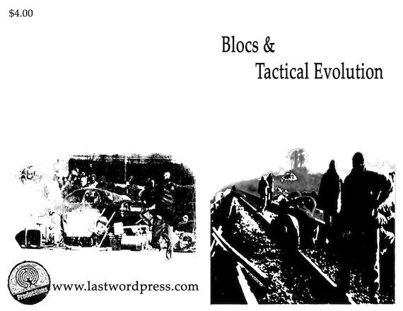 Image for Blocs and Tactical Evolution by Crimethinc.