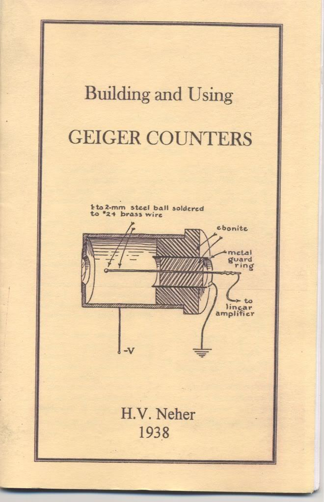 Image for Building and Using Geiger Counters by Neher, H.V. by Neher, H.V.