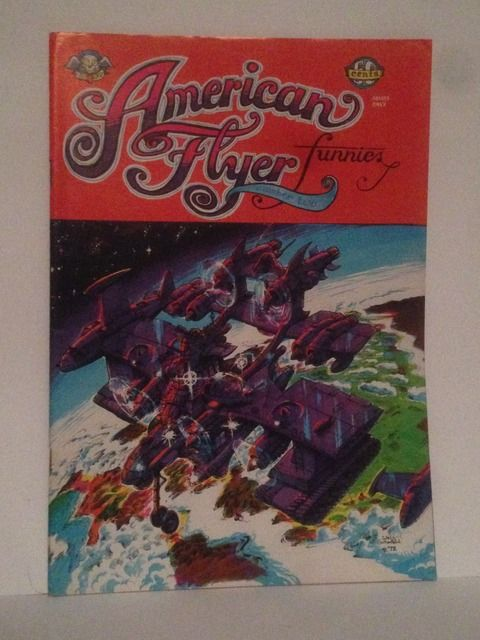 Image for American Flyer Funnies #2