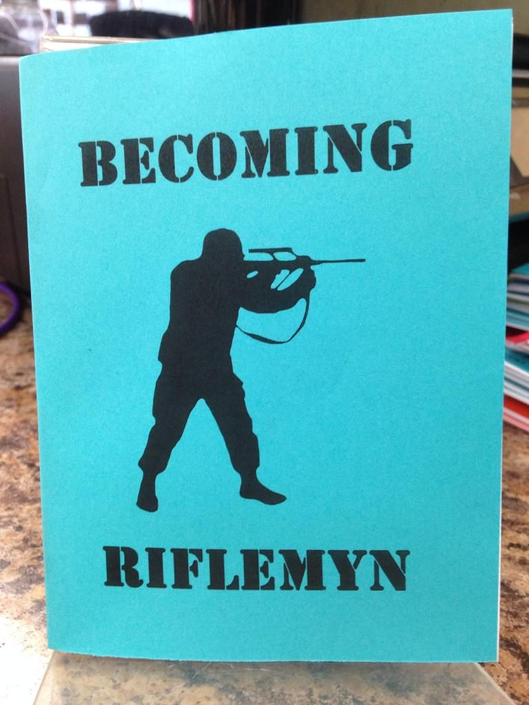 Image for Becoming Riflemyn