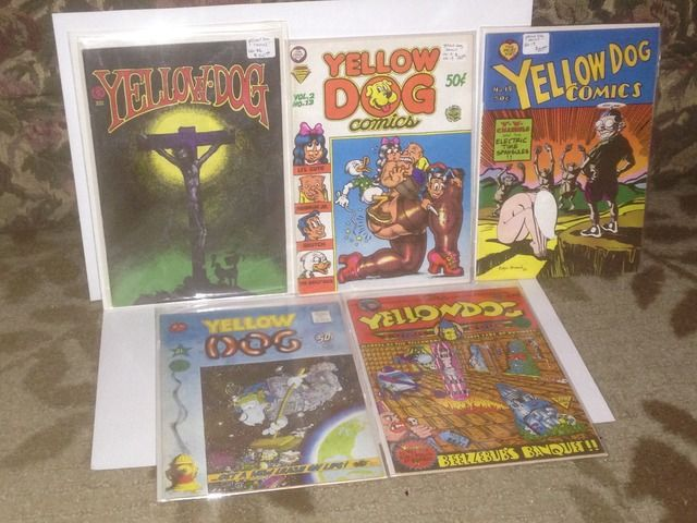 Image for Yellow Dog Comics Lot x 5 The Print Mint #s 13, 19, 21, 22 & 23