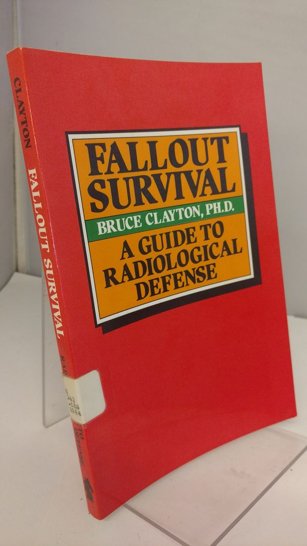 Image for Fallout survival: A guide to radiological defense