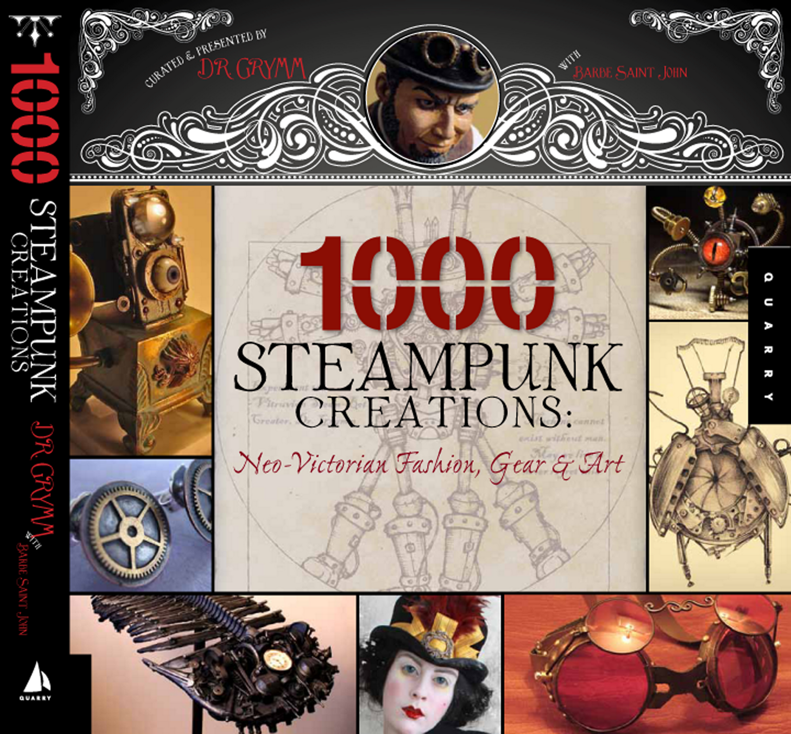 Image for 1000 Steampunk Creations: Neo-Victorian Fashion, Gear & Art