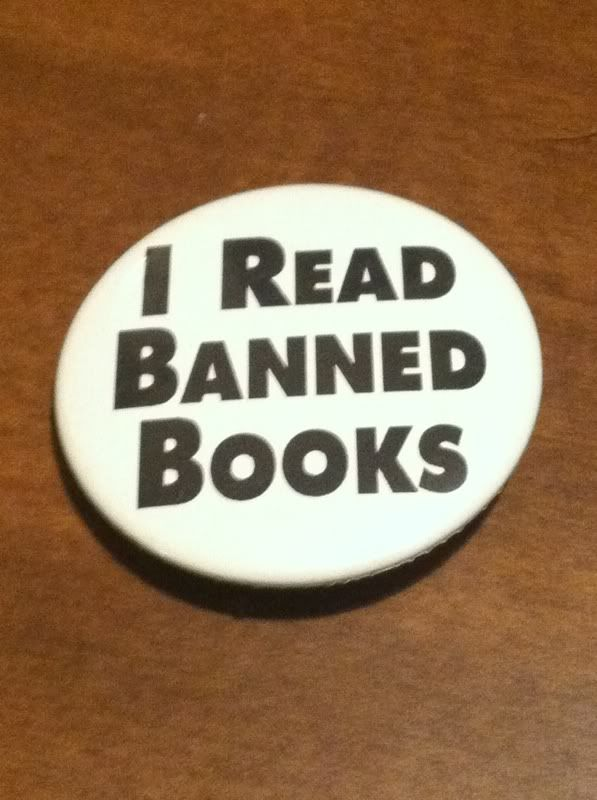 Image for I Read Banned Books Button