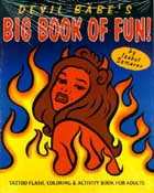 Image for Devil Babe's Big Book of Fun: Tattoo Flash, Coloring & Activity Book for Adults